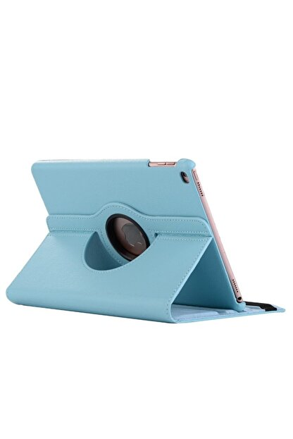 MOBAX Turkuaz Apple Ipad Air 2 Dönebilen Standlı Case Kılıf A1566 A1567