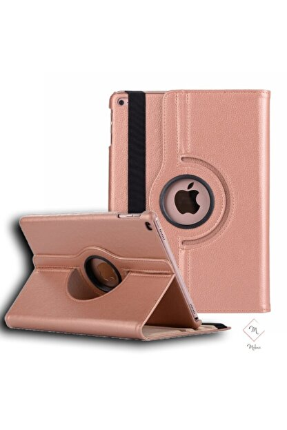 MOBAX Rose Gold Apple Ipad Air 2 Dönebilen Standlı Case Kılıf A1566 A1567
