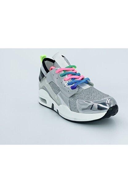 Guja Kadın Gümüş Spor Ayakkabı 18y 336-1