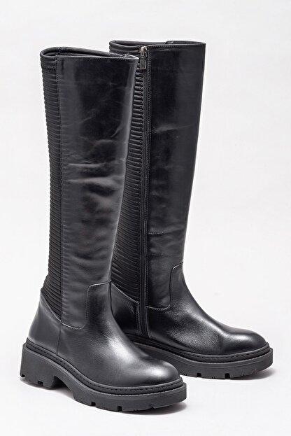 Elle Kadın Sheren Sıyah Çizme 20KTO18718