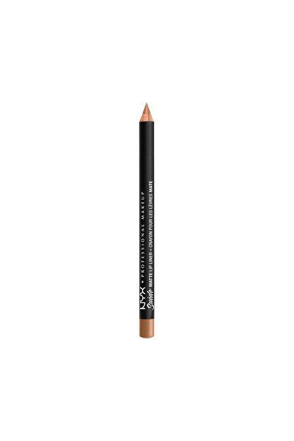 NYX Professional Makeup Dudak Kalemi - Suede Matte Lip Liner London 800897064433