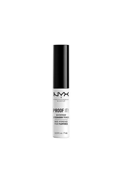 NYX Professional Makeup Suya Dayanıklı Göz Farı Bazı - Proof It Waterproof Eye Shadow Primer 20 g 800897832179