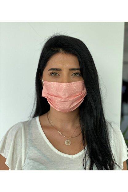 Bosmax 10 Adet Desenli Baskılı Maske 3katlı Burun Telli Meltblown Ara Katman