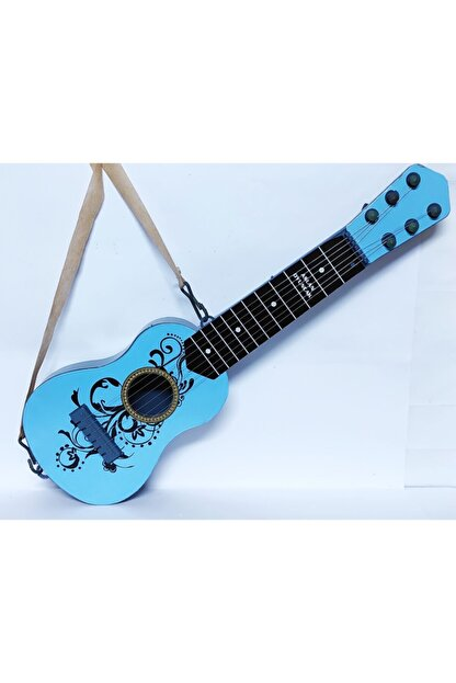 Brother Toys 48 Cm. Boyunda Oyuncak Mavi Ispanyol Gitar