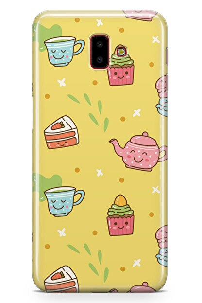 Melefoni Samsung Galaxy J6 Plus Kılıf Tea Time Serisi Rosalie