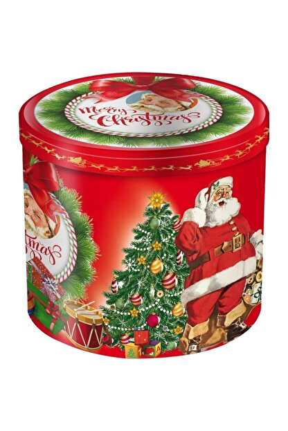 Merry Karina Panettone Dekorlu Bir Kutuda Saf Tereyağından Yapılmış Kek 1000gr