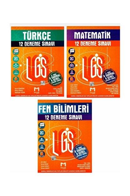 Mozaik Yayınları 8.sınıf Deneme Set Matematik,türkçe,fen