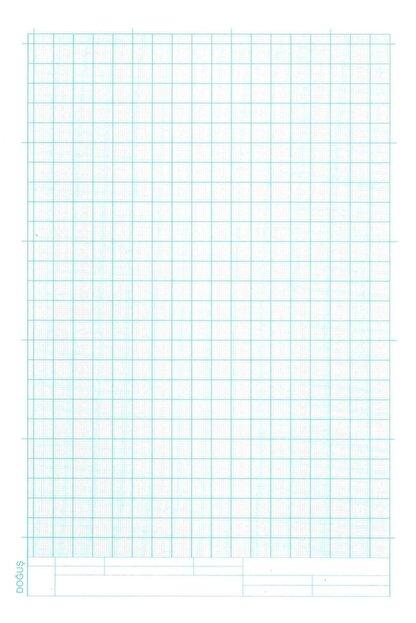 FİYPER A4 Milimetrik Teknik Resim Kağıdı 30lu Poşet - Mavi