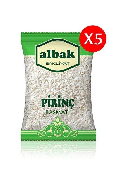 Albak Basmati Pirinç X5 Adet 1 Kg