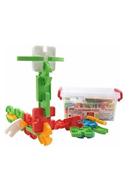 Efe Oyuncak Dinamik Puzzle Oyuncak 40 Parça