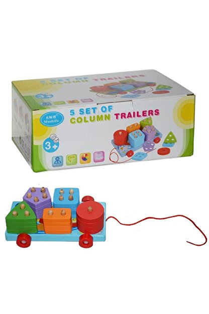 Can Toys Ahşap Oyuncak Bloklar Cn-217