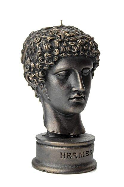 vawa Siyah Hermes Dekoratif Büst Mum