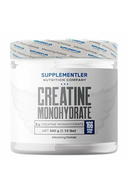 Supplementler .com Micronized Creatine 500 Gr
