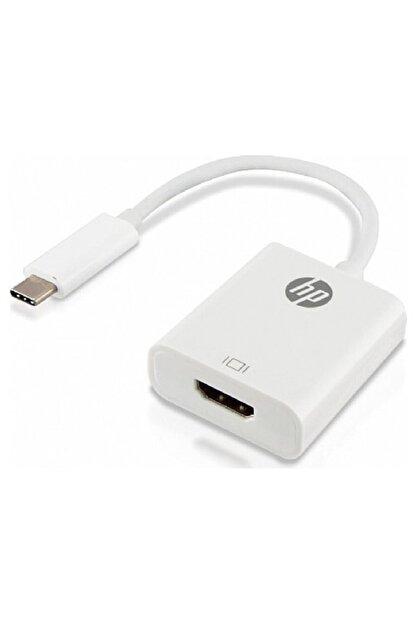 HP Usb-c To Hdmı Adaptör Wht