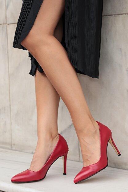 Mio Gusto Basic Kırmızı Stiletto
