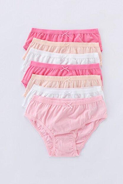 Penti Çok Renkli Teen Pinky 7Li Slip Külot