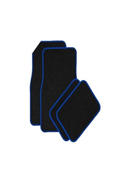 Carneil Kesaksesuar Universal Araç Ve Otomobil Halı Paspas Standart Model Siyah-mavi Kes-aks-188
