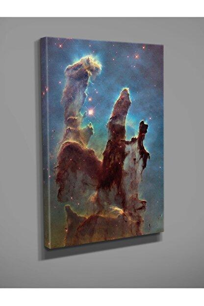 Mupo Ekon Hubble Yaratılış Sütunları Baskılı Kanvas Tablo 50 X 70