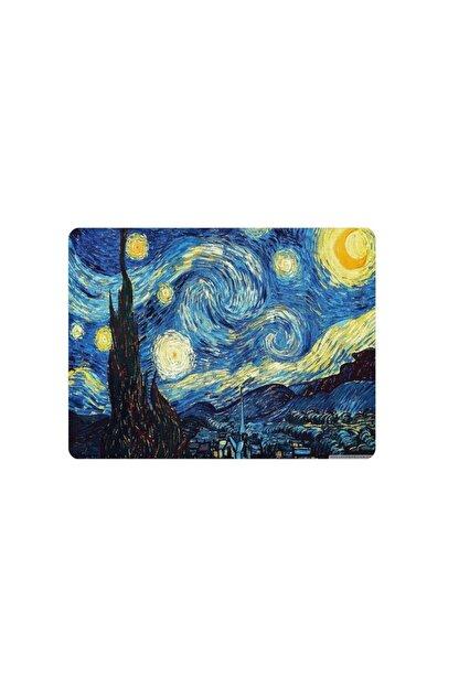 WuW Van Gogh Yıldızlı Starry Night Gece Mouse Pad