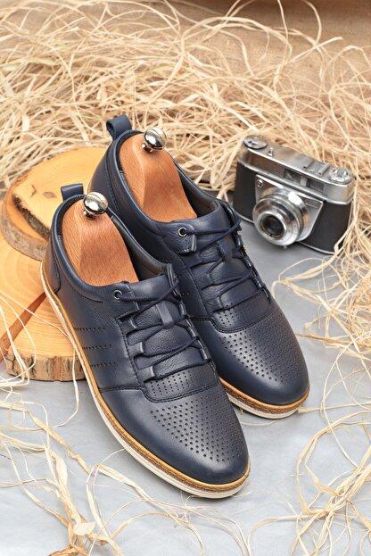 Daxtors Erkek Lacivert Klasik Ayakkabı