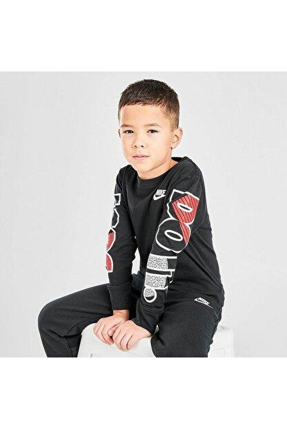 Nike Çocuk Gri Jorden Jdı Fly Ls Tee Uzun Kollu Tişört 86G978-023