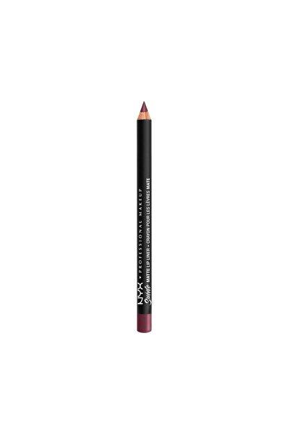 NYX Professional Makeup Dudak Kalemi - Suede Matte Lip Liner Prune 800897064457