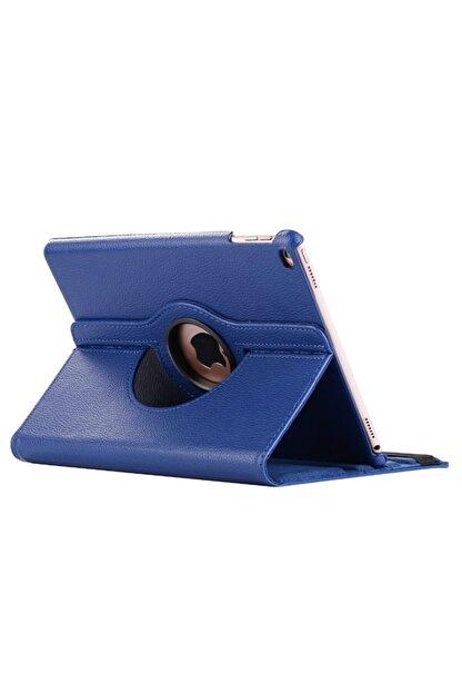 MOBAX Lacivert Apple Ipad Air 2 Dönebilen Standlı Case Kılıf  A1566 A1567