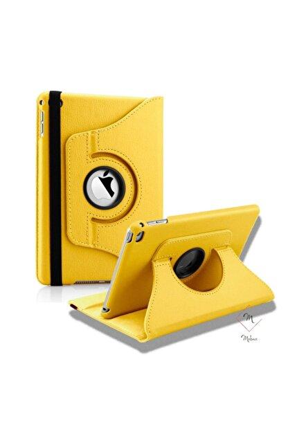 MOBAX Sarı Apple Ipad Air 2 Dönebilen Standlı Case Kılıf A1566 A1567
