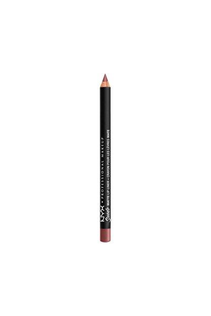 NYX Professional Makeup Dudak Kalemi - Suede Matte Lip Liner Whipped Caviar 800897064358