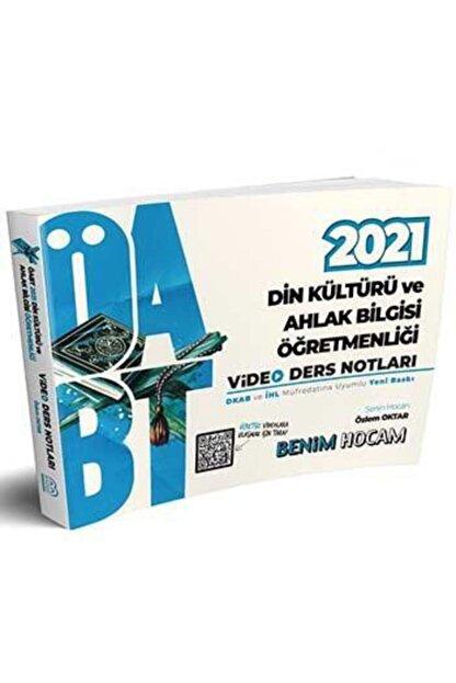 DIGERUI 2021 Öabt Din Kültürü Ve Ahlak Bilgisi Öğretmenliği Video Ders Notları Benim Hocam Yayınları