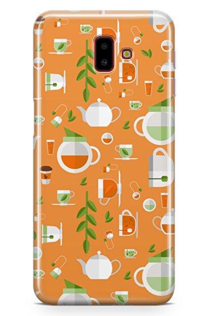 Melefoni Samsung Galaxy J6 Plus Kılıf Tea Time Serisi Lola