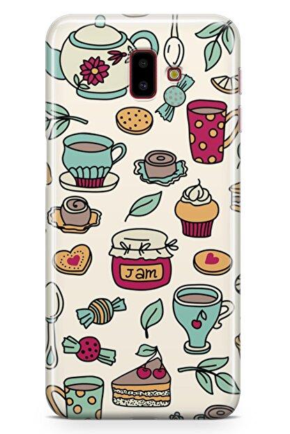 Melefoni Samsung Galaxy J6 Plus Kılıf Tea Time Serisi Ayla