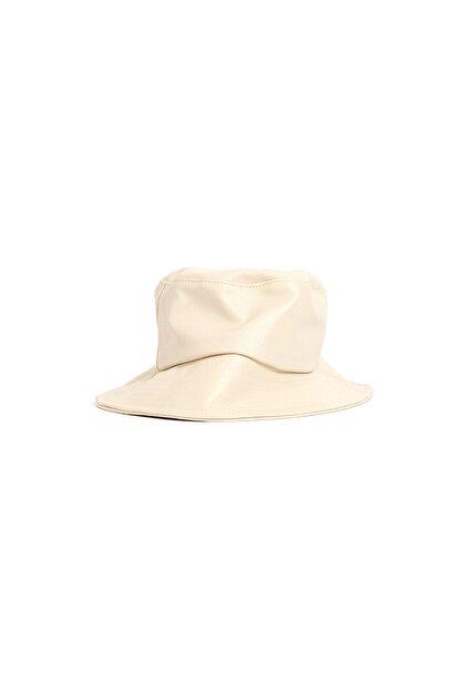 Kapin Krem Balıkçı Bucket Şapka