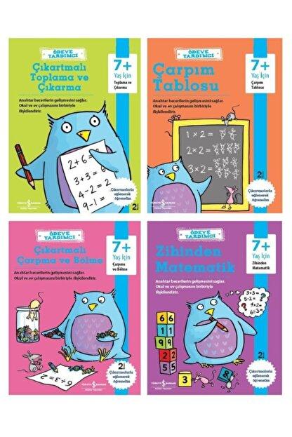İş Bankası Kültür Yayınları Iş Bankası 2. Ve 3. Sınıf Ödeve Yardımcı Matematik Seti 4 Kitap