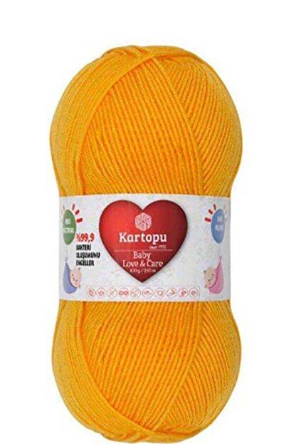 Kartopu Baby Love&care K154 Koyu Sarı