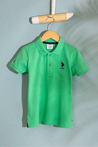 US Polo Assn Yesıl Erkek Cocuk T-Shirt