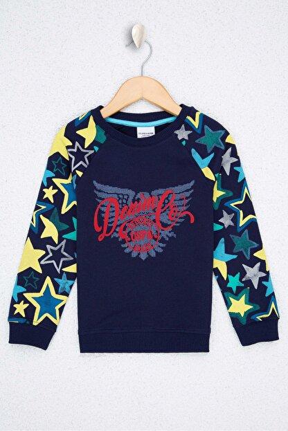 US Polo Assn Lacıvert Erkek Çocuk Sweatshirt