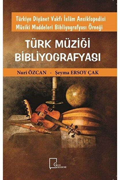 Gece Akademi Türkiye Diyanet Vakfı Islam Ansiklopedisi Musiki Maddeleri Bibliyografyası Örneği