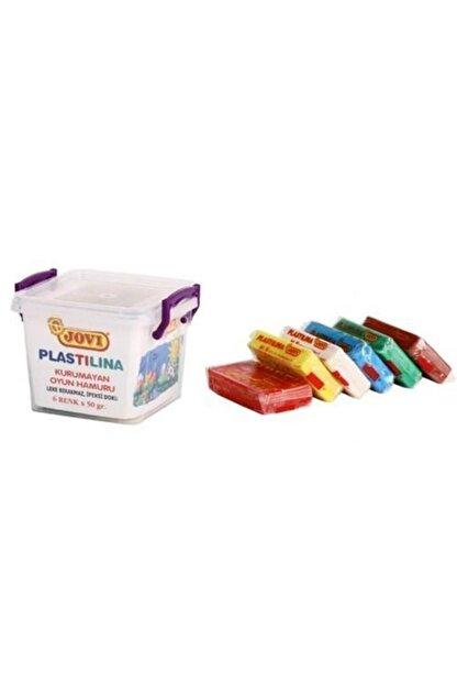 Jovi Jovı Oyun Ham. 6 Renk 50gr Plastılına Pls.kutu 706