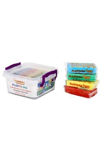 Jovi Jovı Oyun Hamuru 50 Gr 4 Renk Plastik Kutu 704
