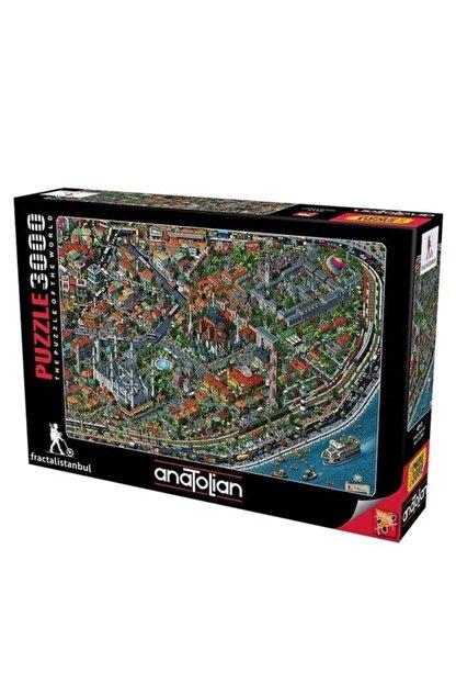 Anatolian Puzzle Fractal Istanbul 3000 Parça Puzzle 4913