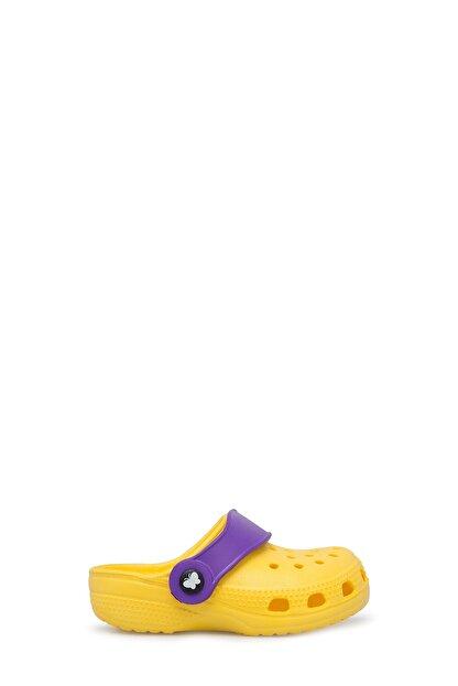Akınalbella Unisex Çocuk Sarı Sandalet E012000b
