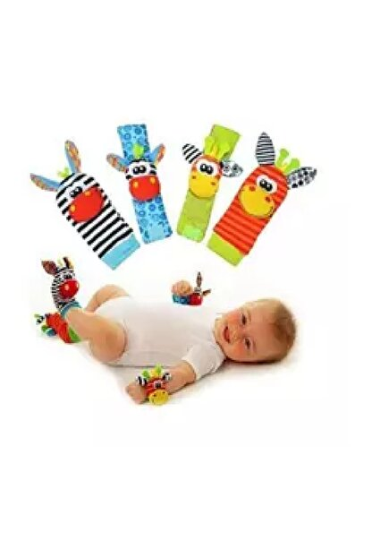 Sozzy Toys Çıngıraklı Çorap ve Bileklik Seti - SZY101