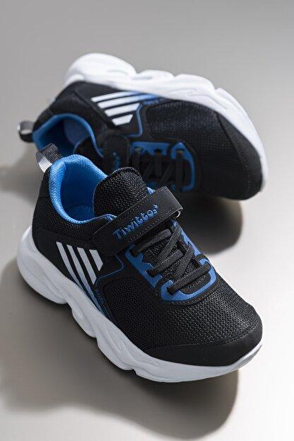 Tonny Black Siyah Sax Unisex Çocuk Sneaker TBZ05-3