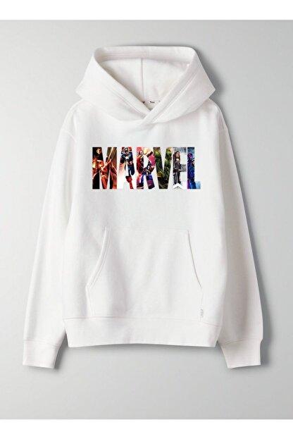 JOKERMERSİN Unisex Beyaz Sweatshirt