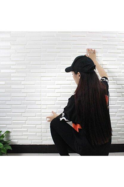 Renkli Duvarlar Nw55 Beyaz Opak Arkası Yapışkanlı Esnek Silinebilir Duvar Paneli