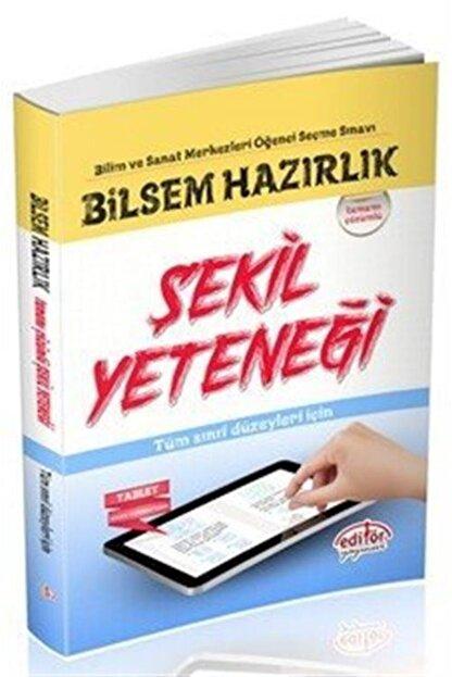 Editör Yayınları Bilsem Hazırlık Şekil Yeteneği