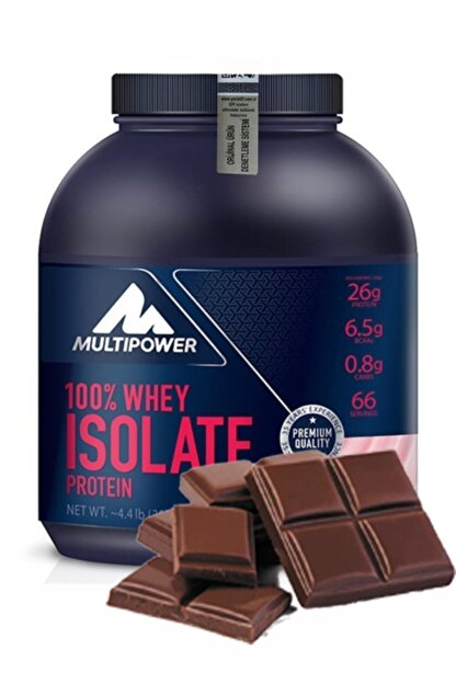 Multipower Whey Isolate Protein 2000 gr Protein Tozu Isolate Izole Çikolata Çikolata Aromalı