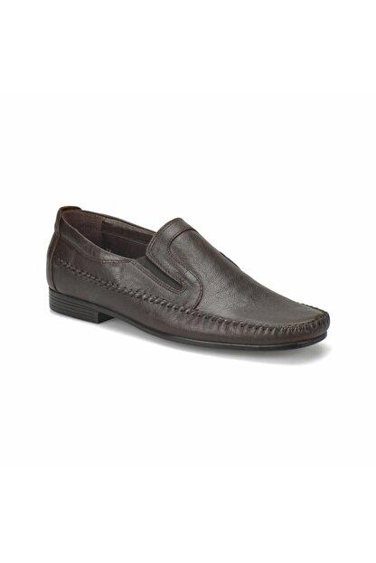 Flogart Erkek Kahverengi Hakiki Deri Ayakkabı