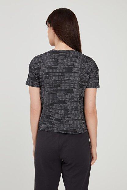 adidas Kadın T-Shirt -  W E Aop T  - FL0163